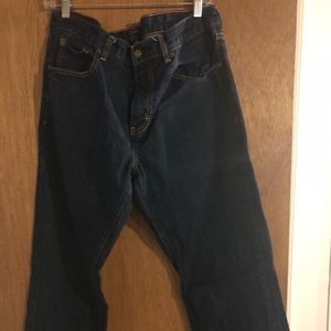 "J. Crew men's ""Sullivan"" jeans dark / rinsed denim"